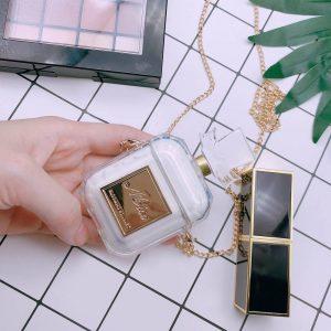Parfümös üveg formájú szilikon AirPods tartó