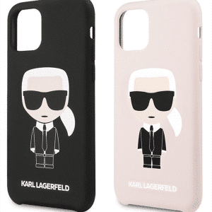 Karl Lagerfeld Iconic szilikon iPhone tok