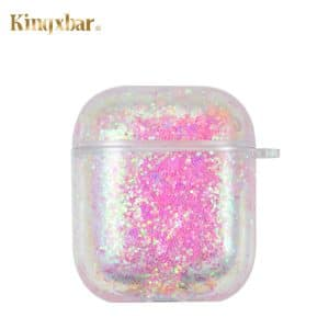 Kingxbar AirPods Galaxy tartó pink