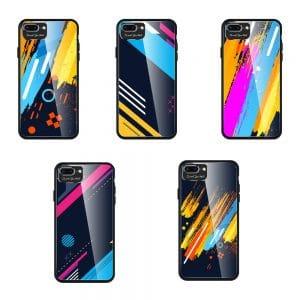 Color Glass Case Durable iPhone 7 Plus/8 Plus színes telefontok