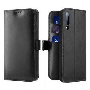Dux Ducis Kado oldalranyíló műbőr Samsung Galaxy A70 telefontok (fekete)