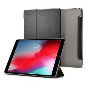 Spigen Smart Fold oldalra nyíló tok iPad Air 3 2019 tok (fekete)