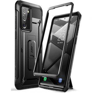 Supcase Unicorn Beetle Pro Samsung Galaxy Note 20 Ultra ütésálló tok (fekete)
